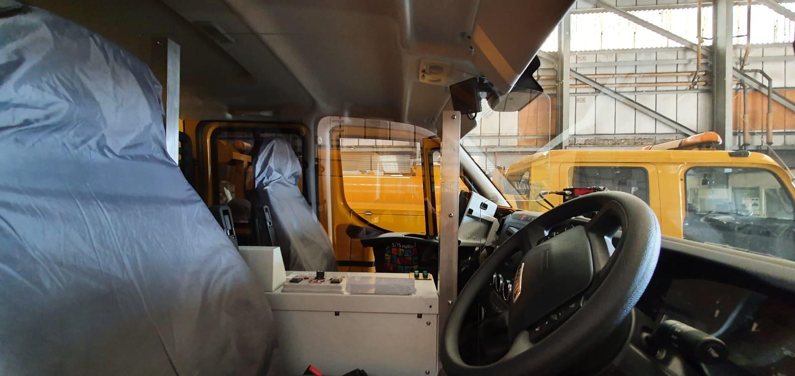 Island Roads scanner vehicle