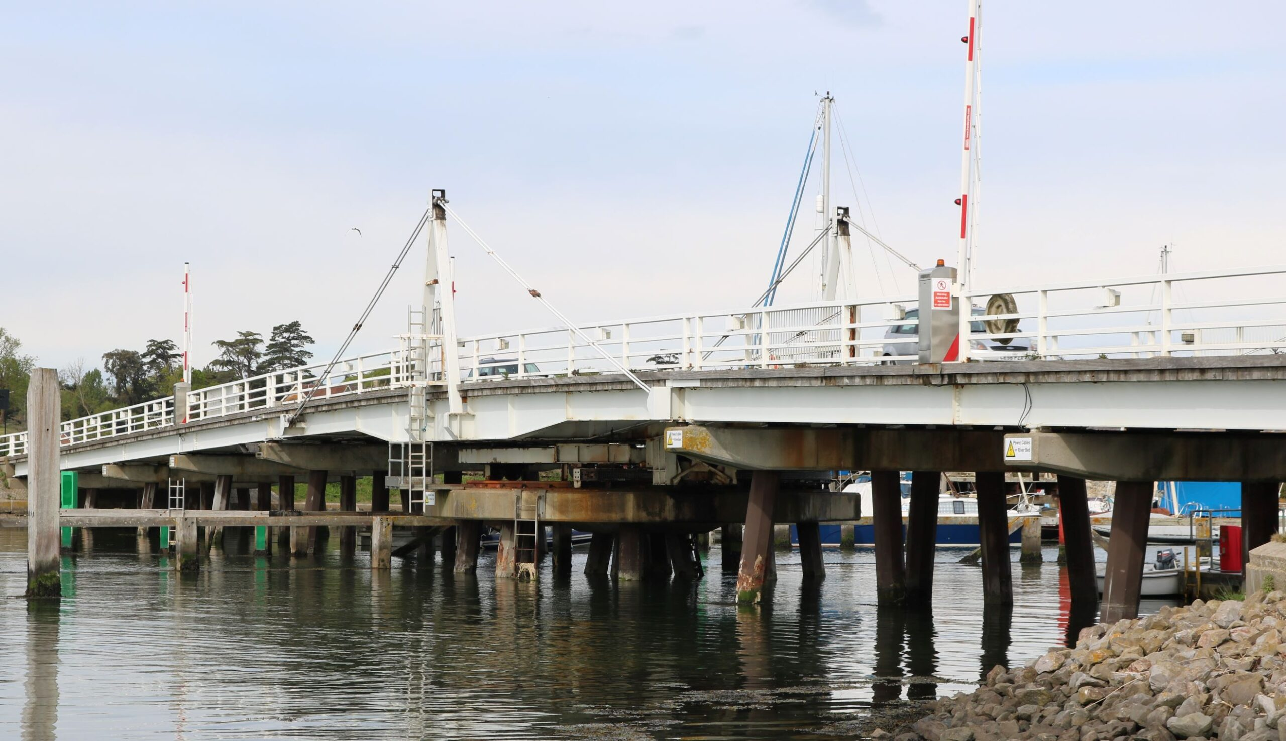 photo showing bridge at Yarmouth, Isle of Wight
